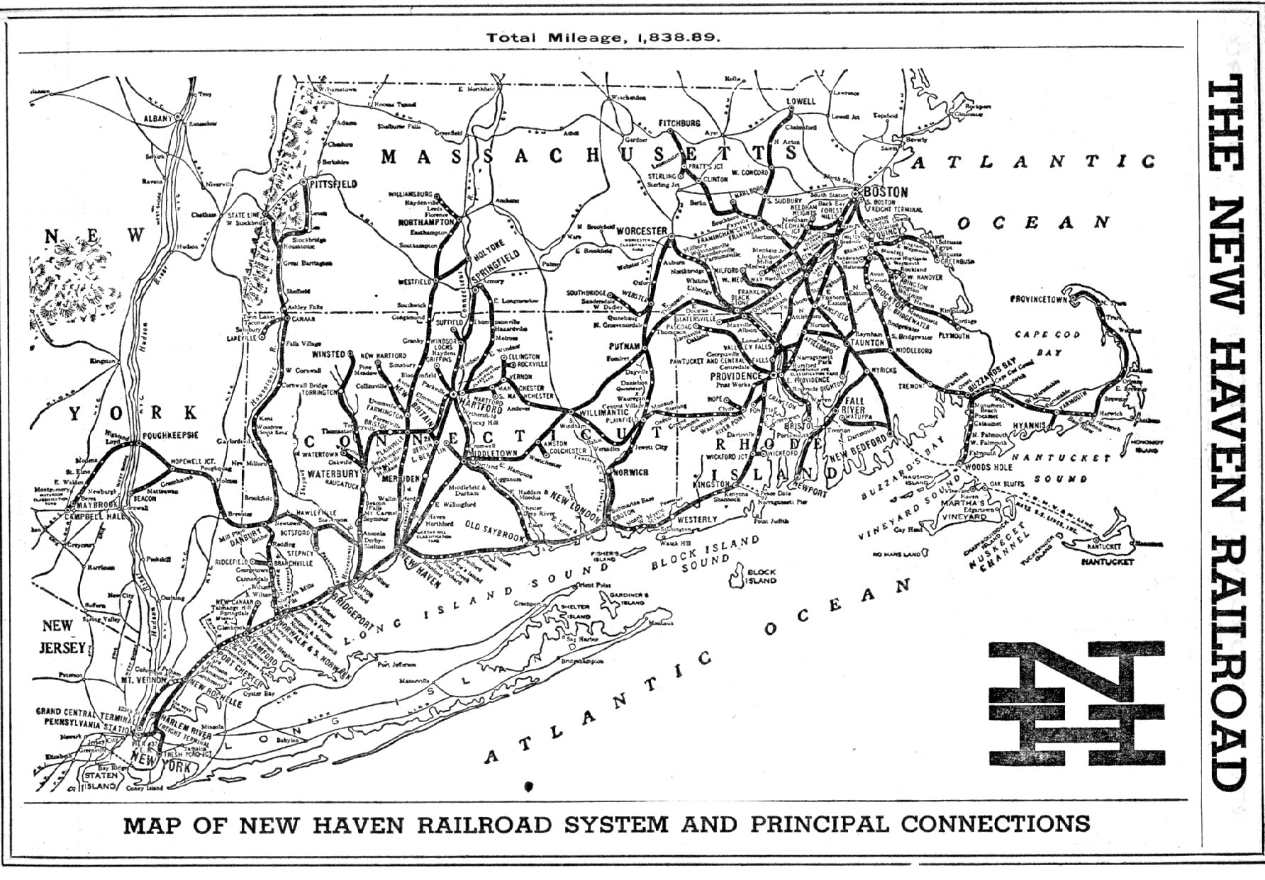 Map Of New York Rail System.Railroad Map Page 1 Stan S Railpix